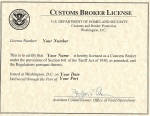 Customs Broker Exam